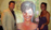 Michael Bell unveils Aida Bogosian's portrait at her Hollywood home
